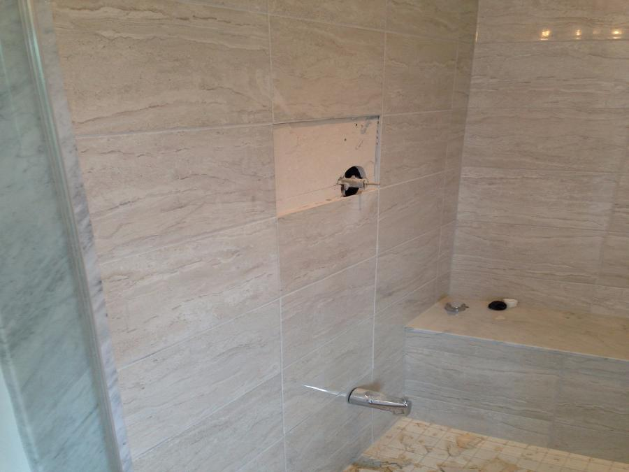 shower plumbing, tiles, shower change in collingwood